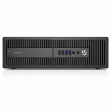 ПК HP EliteDesk 800 G2 SFF Core i5-6500,8GB DDR4-2133 (1x8GB),256GB 3D SSD,DVDRW,USB Conference kbd/mouse,Win10Pro(64-bit),3-3-3 Wty (X6T42EA#ACB)
